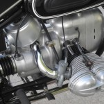 BMW R69S - 1968 - Carburettor, Airbox, Pushrod Tubes and Cylinder Head.