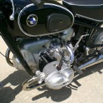 BMW R69S - 1968 - Gas Tank, Knee Pads, Motor and Transmission.