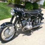 BMW R69S - 1968 - Left Side View - Motor and Transmission.