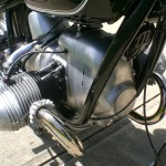 BMW R69S - 1968 - Engine Front Cover, Frame Tubes.
