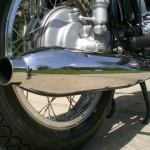 BMW R69S - 1968 - Right Hand Muffler.