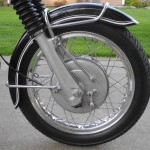 BMW R69S - 1968 - Front Wheel, Front Mudguard, Brake Drum, Speedo Cable and Fender.