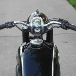 BMW R69S - 1968 - Gas Tank, Petrol Tank, Handlebars and Grips.