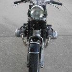 BMW R69S - 1968 - Front View, Head Light, Handlebars, Levers and Grips.