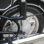 BMW R69S - 1968 - Rear Frame and Footrest.