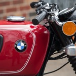 BMW R75/5 - 1973 - BMW Badge, Fuel Tank, Knee Pad, Reflector and Handlebar Grip.
