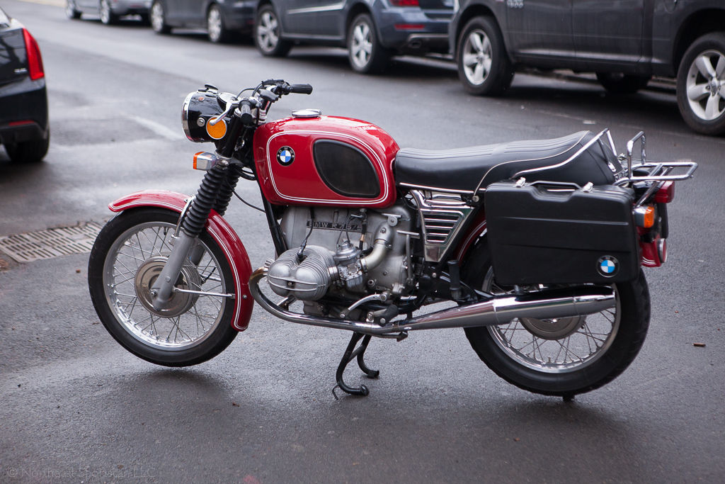 Restored Bmw R75 5 1973 Photographs At Classic Bikes Restored Bikes Restored