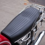 BMW R75/5 - 1973 - Seat, Grab Rail, Lifting Handle, Side Panel and Tank.