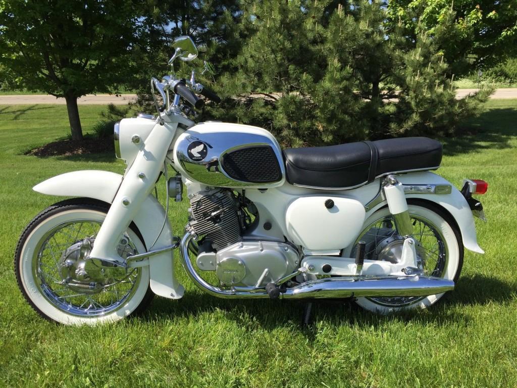 Restored Honda Ca77 Dream 1968 Photographs At Classic Bikes Restored Bikes Restored