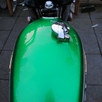 Honda CB500 Four - 1972 - Fuel Tank and Locking Petrol Cap,.