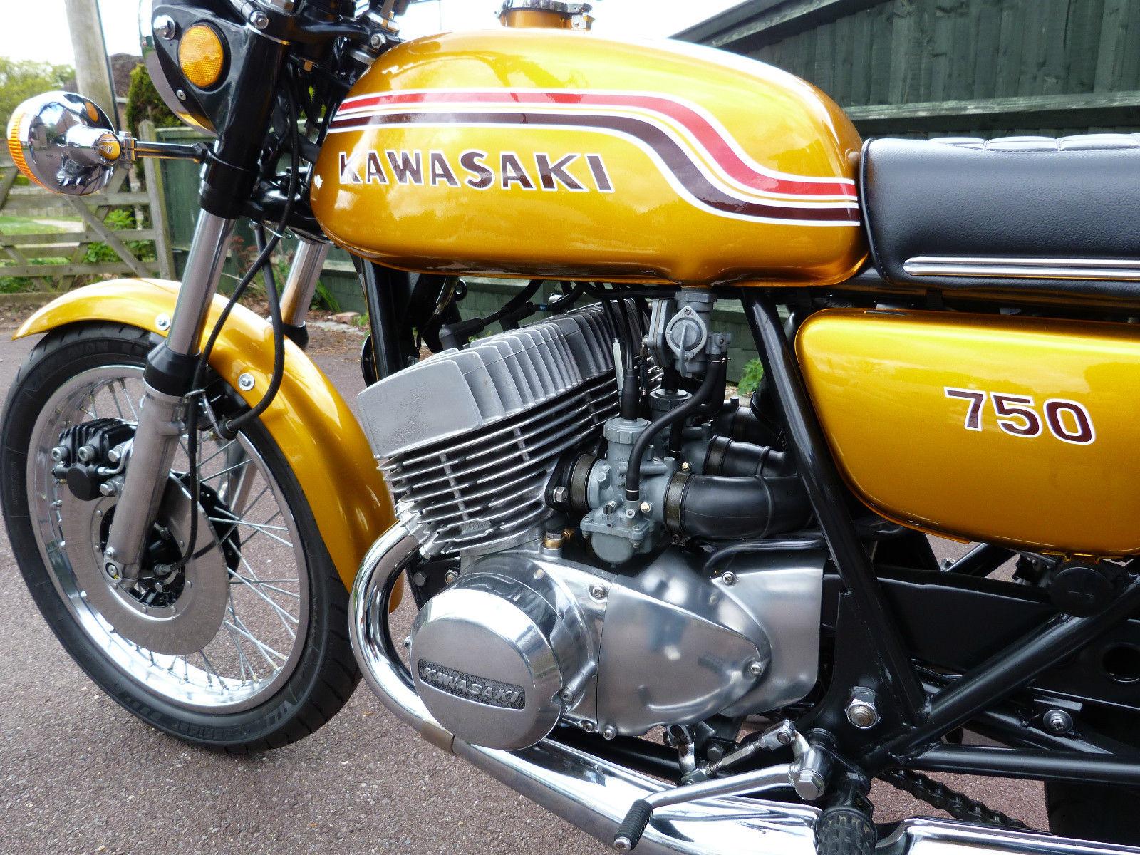 Restored Kawasaki H2 750 - 1972 Photographs at Clic Bikes ...