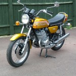 Kawasaki H2 750 - 1972 - 750cc Two Stroke Triple. Front Mudguard, Centre Stand, Indicators, Seat, Seat Trim, Exhaust System and Front Brake.