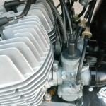 Kawasaki H1 500 - 1974 - Carburettors, Airbox Rubber, Inlet Stubs, In Line Filters and Cables.