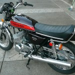Kawasaki H1 500 - 1974 - Flashers, Seat, Tank, Footrests, Reflectors, Handlebars, Seat trim and Shocks.
