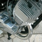 Kawasaki H1 500 - 1974 - Motor and Transmission, Oil Pump, Two Stroke 500cc Triple.