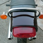 Kawasaki H1 500 - 1974 - Tail Piece, Seat, Grab Rail and Exhausts.