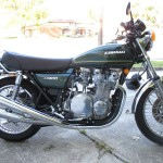 Kawasaki KZ900 - 1976 - Right Side View,