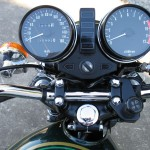 Kawasaki KZ900 - 1976 - Clocks, Speedo and Tacho, Warning Lights, Ignition Switch and Key.