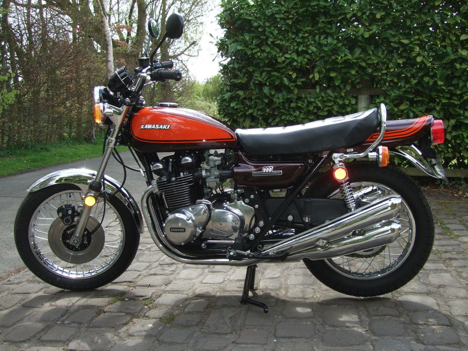 Restored Kawasaki Z1 1972 Photographs At Classic Bikes