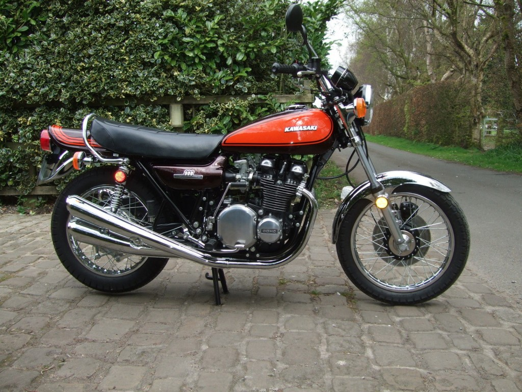 Restored Kawasaki Z1 1972 Photographs At Classic Bikes