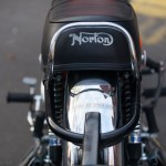 Norton Commando - 1972 - Seat Cover, Norton Logo, Rear Light and Bracket.