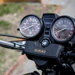 Suzuki GS1100G - 1982 - Clocks, Lights, Gear Position and Switch.