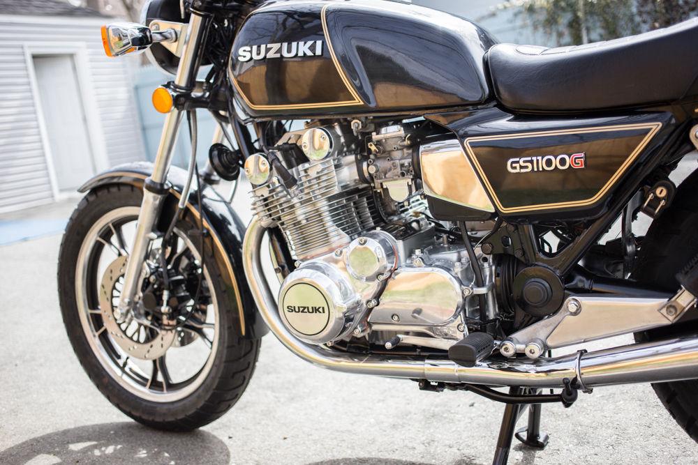 Suzuki GS1100G - 1982 - Engine and Gearbox, Shaft Drive, 1100cc.