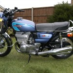 Suzuki GT550 - 1973 - Motor and Transmission, GT550K, Frame and Forks.