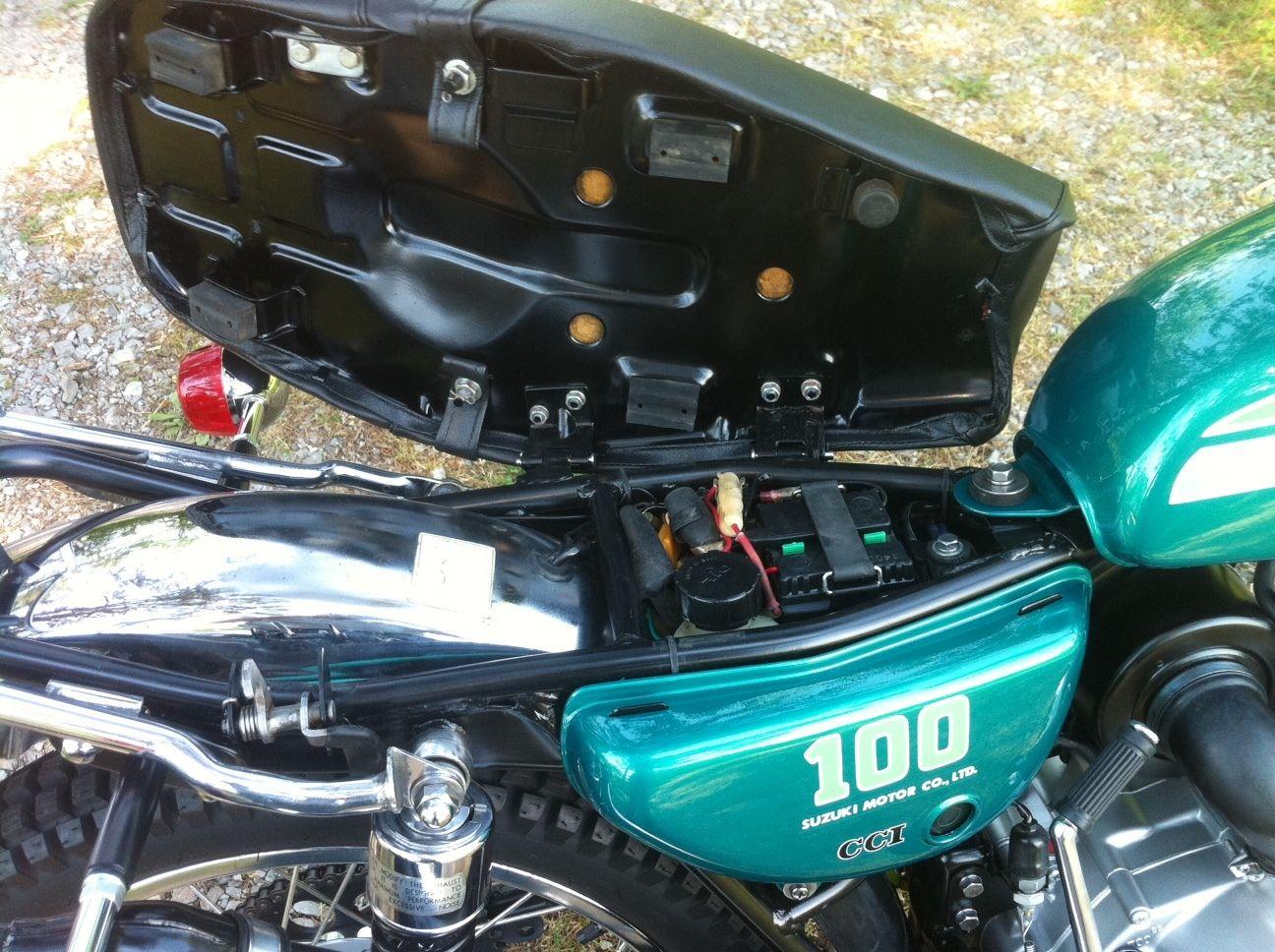 ... manual elzplorers de Array - restored suzuki tc100 1974 photographs at  classic bikes restored rh bikesrestored com