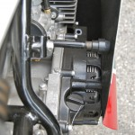 Yamaha TD3 250 - 1972 - Clutch and Filler Cap.