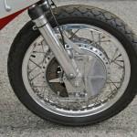 Yamaha TD3 250 - 1972 - Front Wheel and Brake.