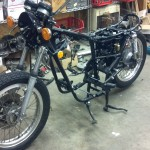 Yamaha XS650 - 1975 - Frame Off Restoration.