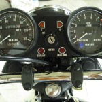 Yamaha XS650 - 1975 - Clocks, Gauges, Speedometer, Tacho, Ignition Switch and Warning Lights.