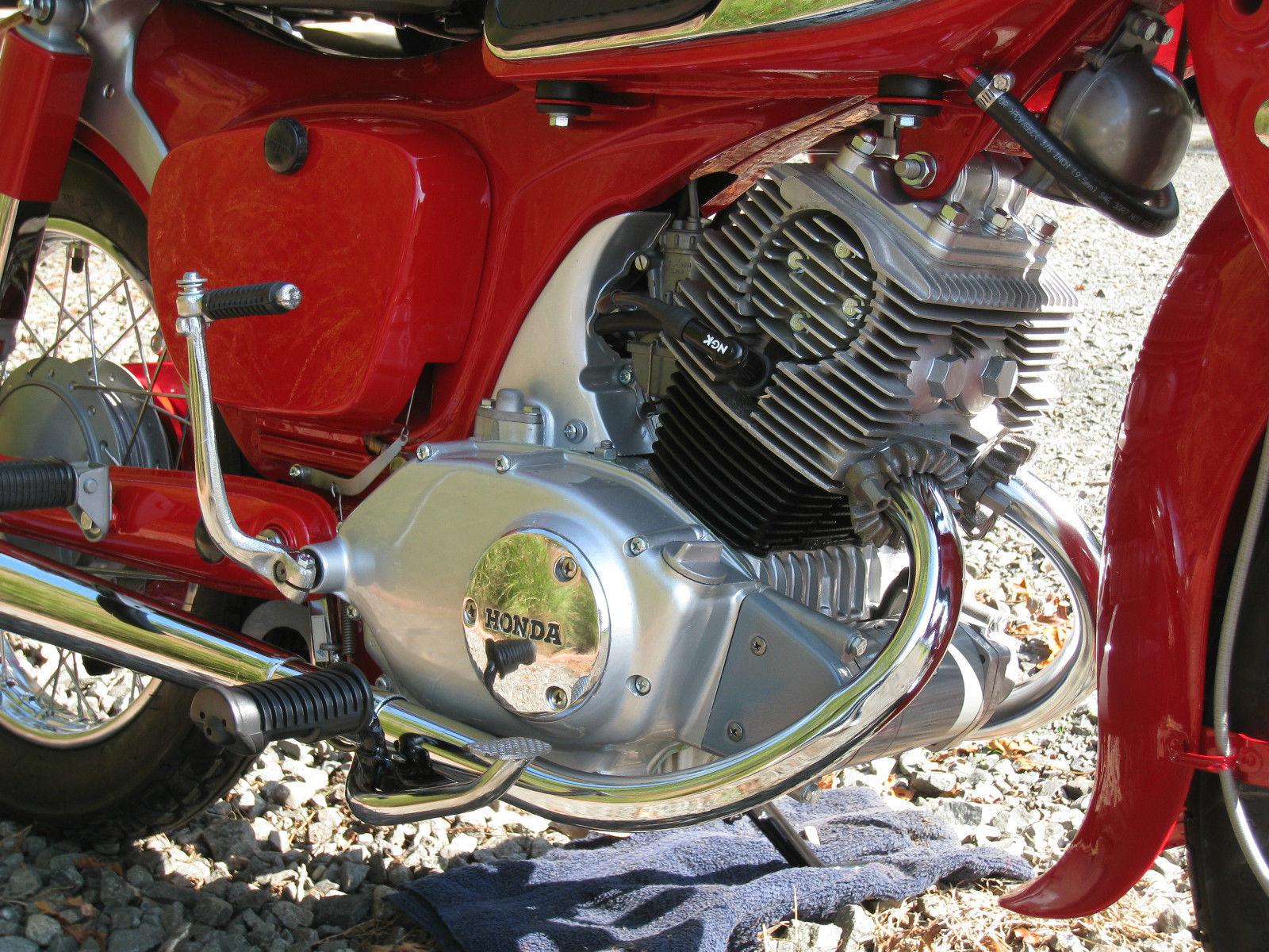 restored honda ca95 1965 photographs at classic bikes restored rh bikesrestored com Honda CA95 Benly Touring 150 Honda Dream CA95