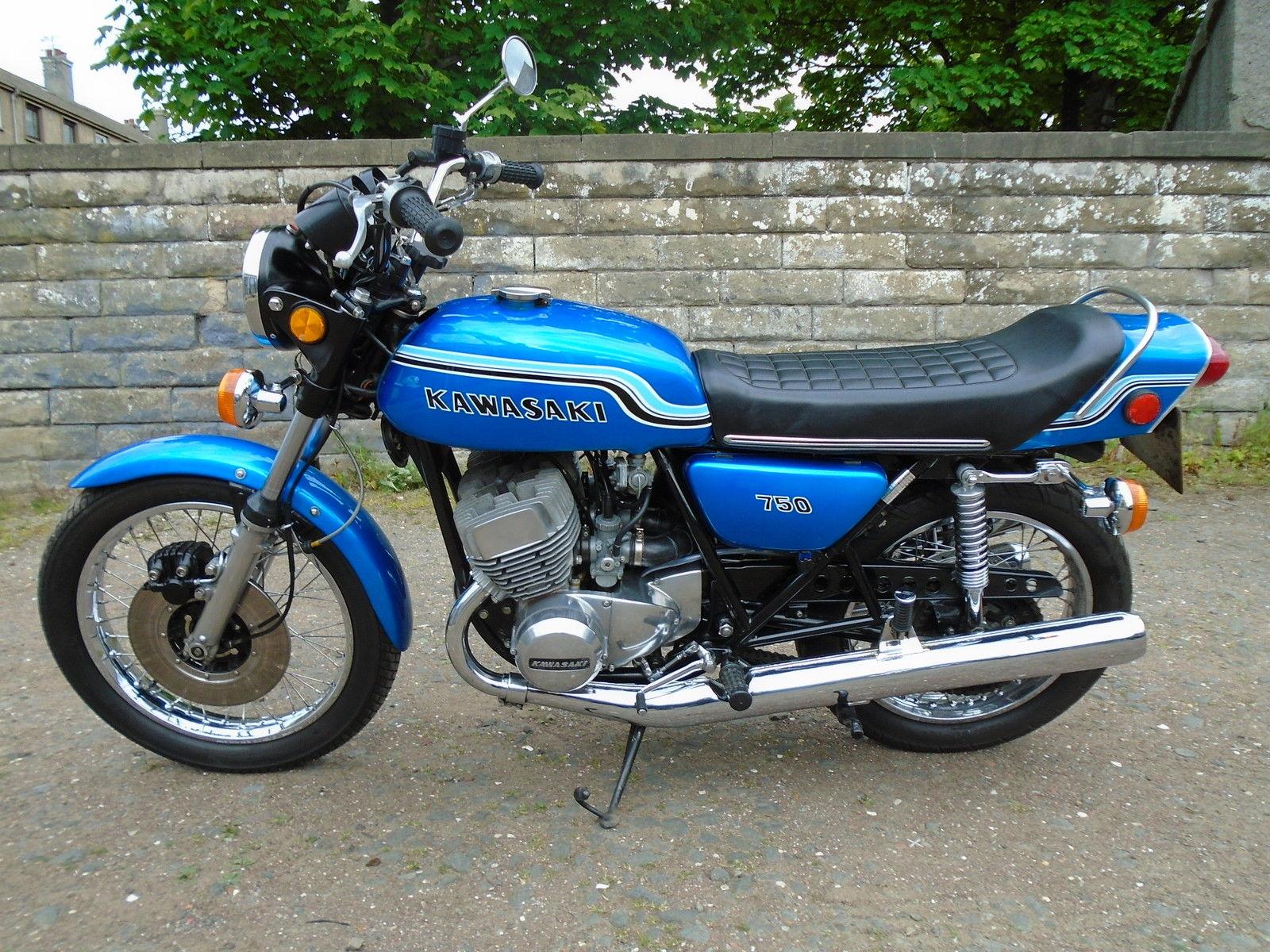 restored kawasaki h2 750 1972 photographs at classic bikes restored bikes restored. Black Bedroom Furniture Sets. Home Design Ideas
