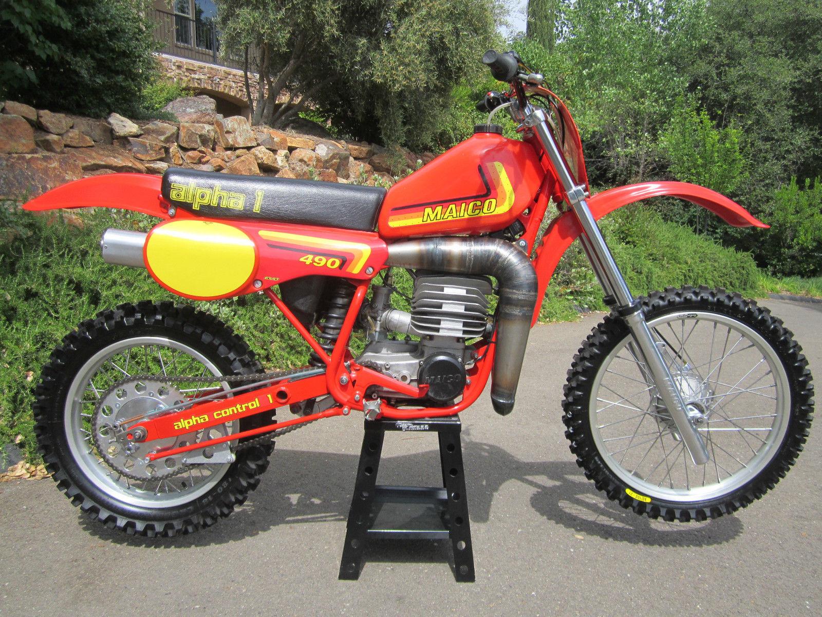 Maico 490 Alpha-1 - 1982