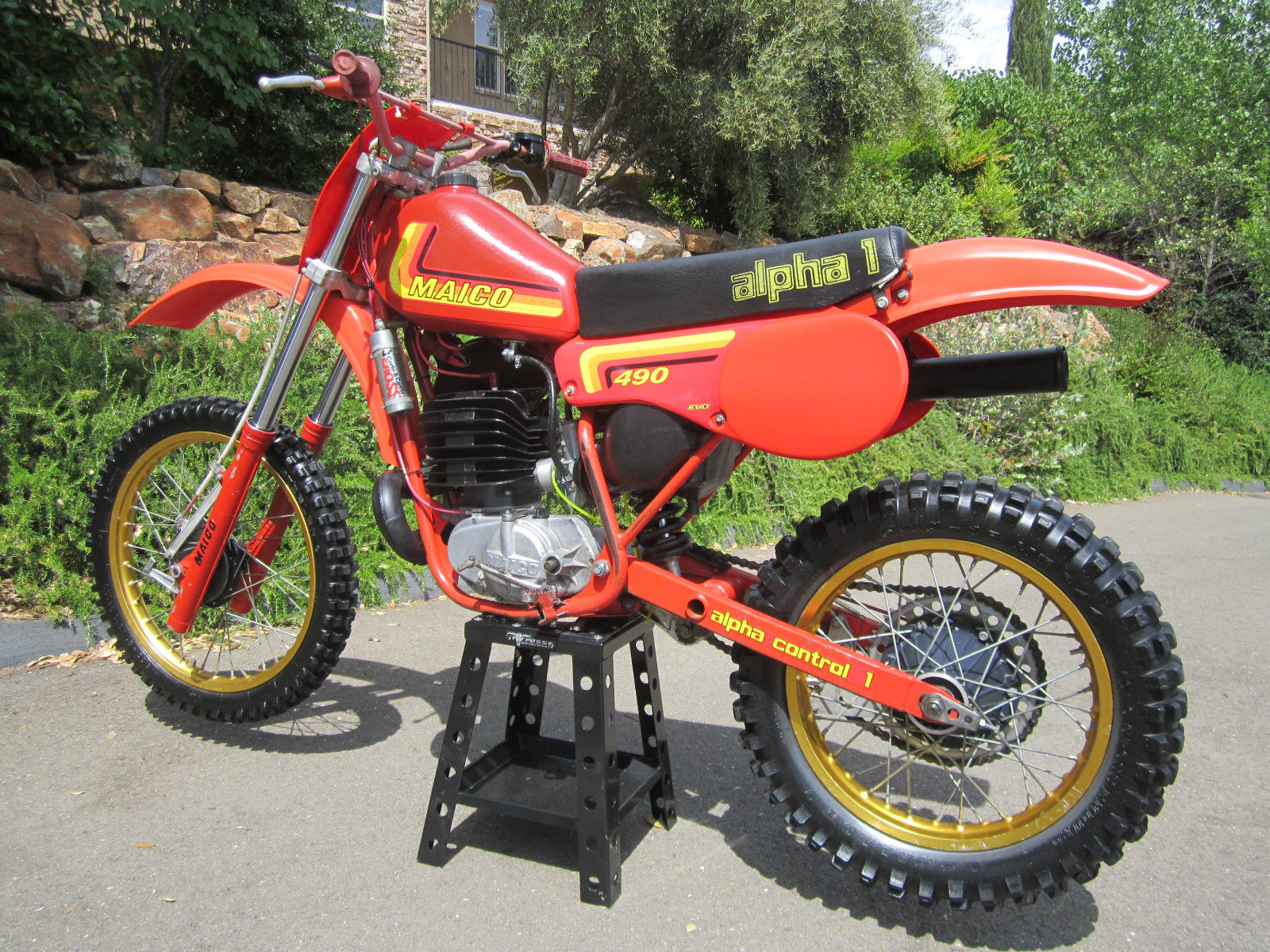 Maico 490 Alpha-1 - 1982 - Restored Classic Motorcycles at