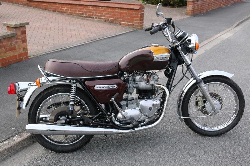 Restored Triumph Bonneville T140v 1979 Photographs At Classic