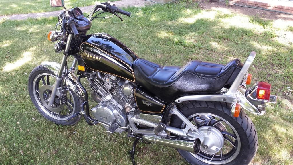 yamaha virago 1982 restored classic motorcycles at bikes restored bikes restored. Black Bedroom Furniture Sets. Home Design Ideas