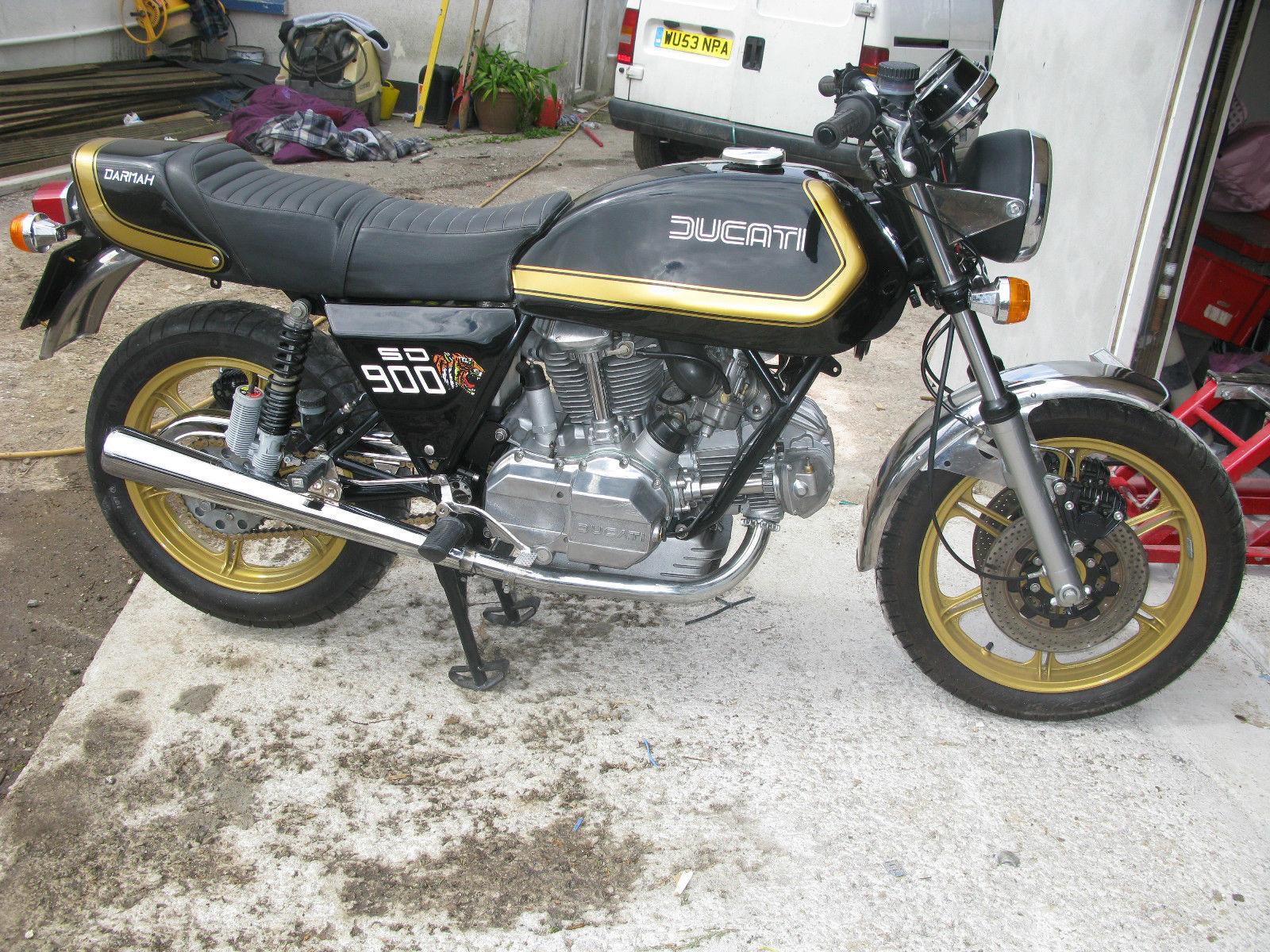 Ducati Darmah SD900 - 1980