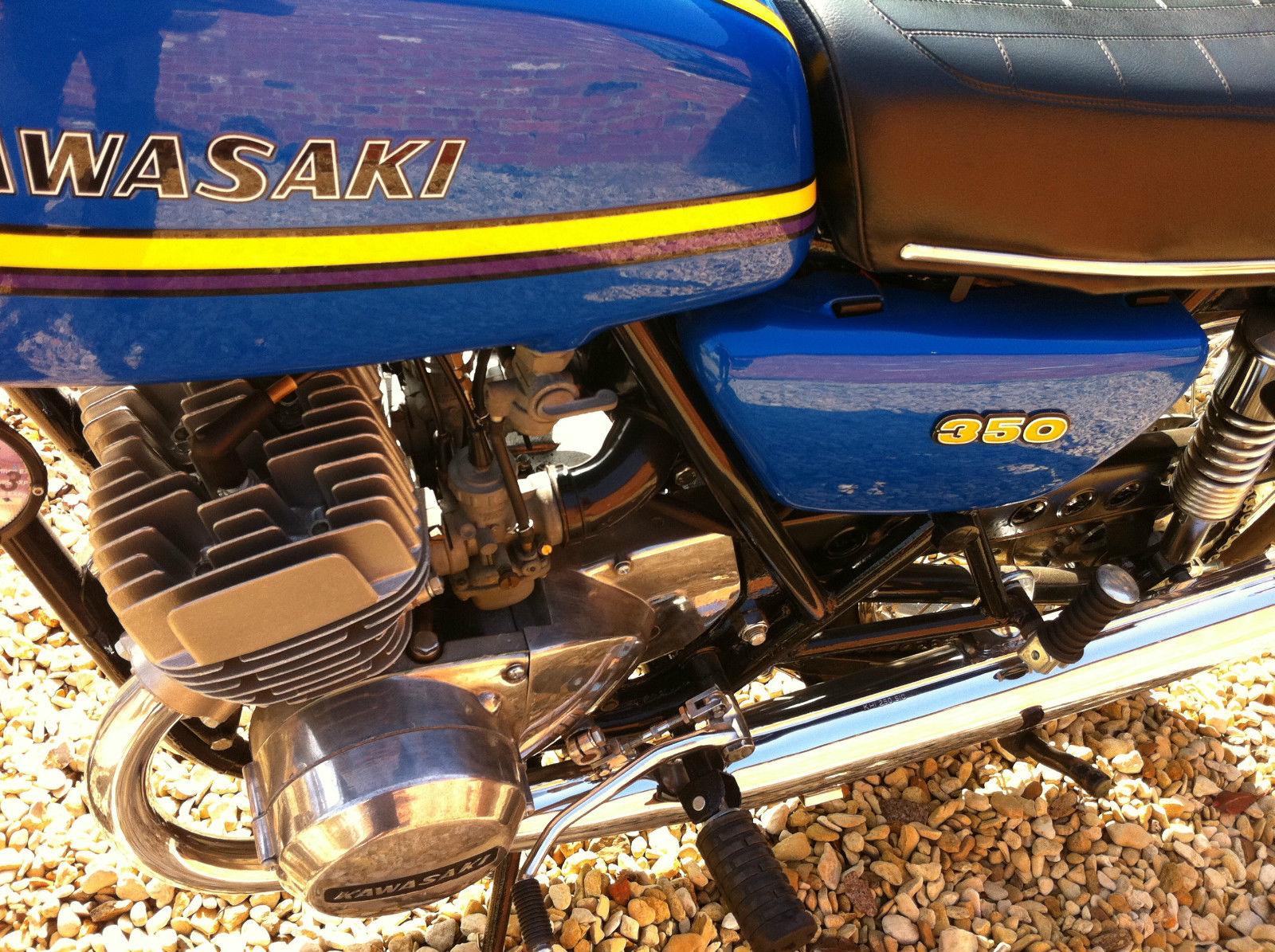 Kawasaki S2A 350 - 1972