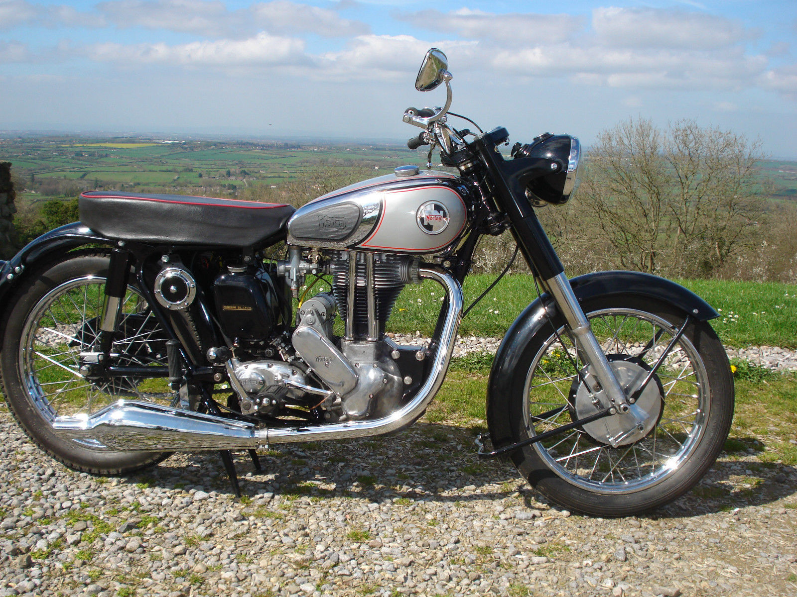 Norton 19S - 1955