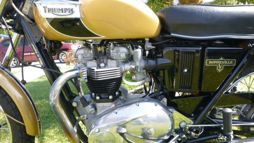 Triumph Bonneville 1971 Restored Classic Motorcycles