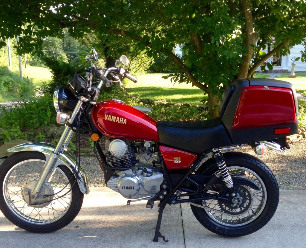 yamaha sr250 1982 restored classic motorcycles at