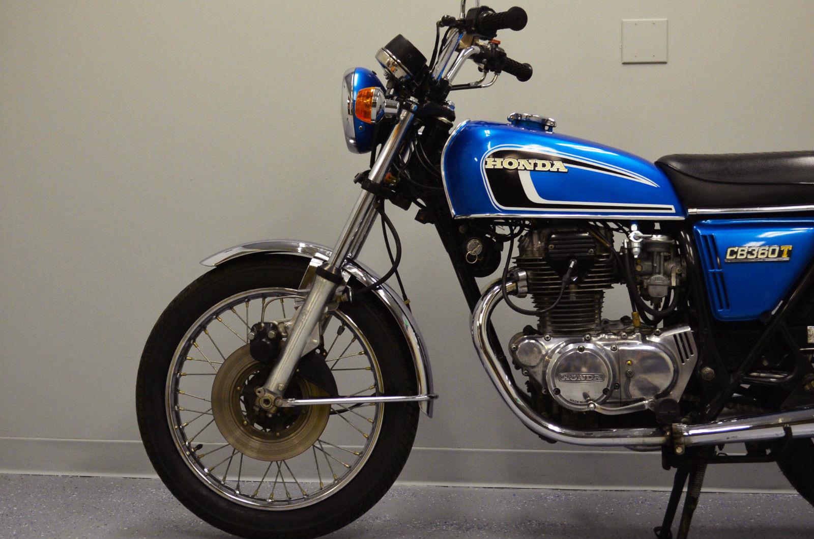 Restored Honda Cb360t