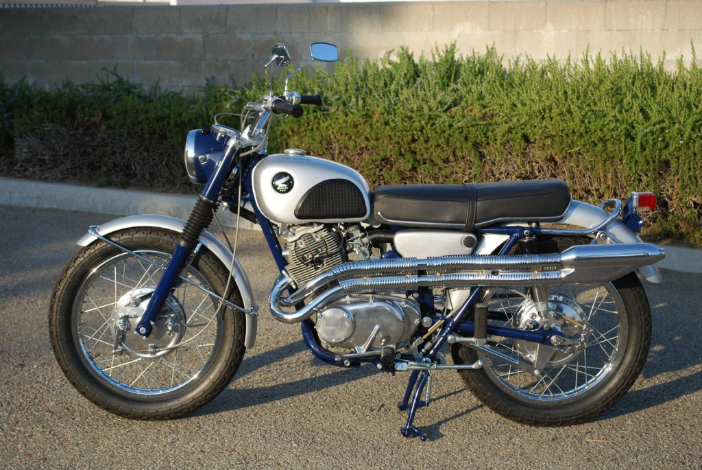 Honda 305 Scrambler >> Honda CL305 Scrambler - 1966 - Restored Classic Motorcycles at Bikes Restored |Bikes Restored