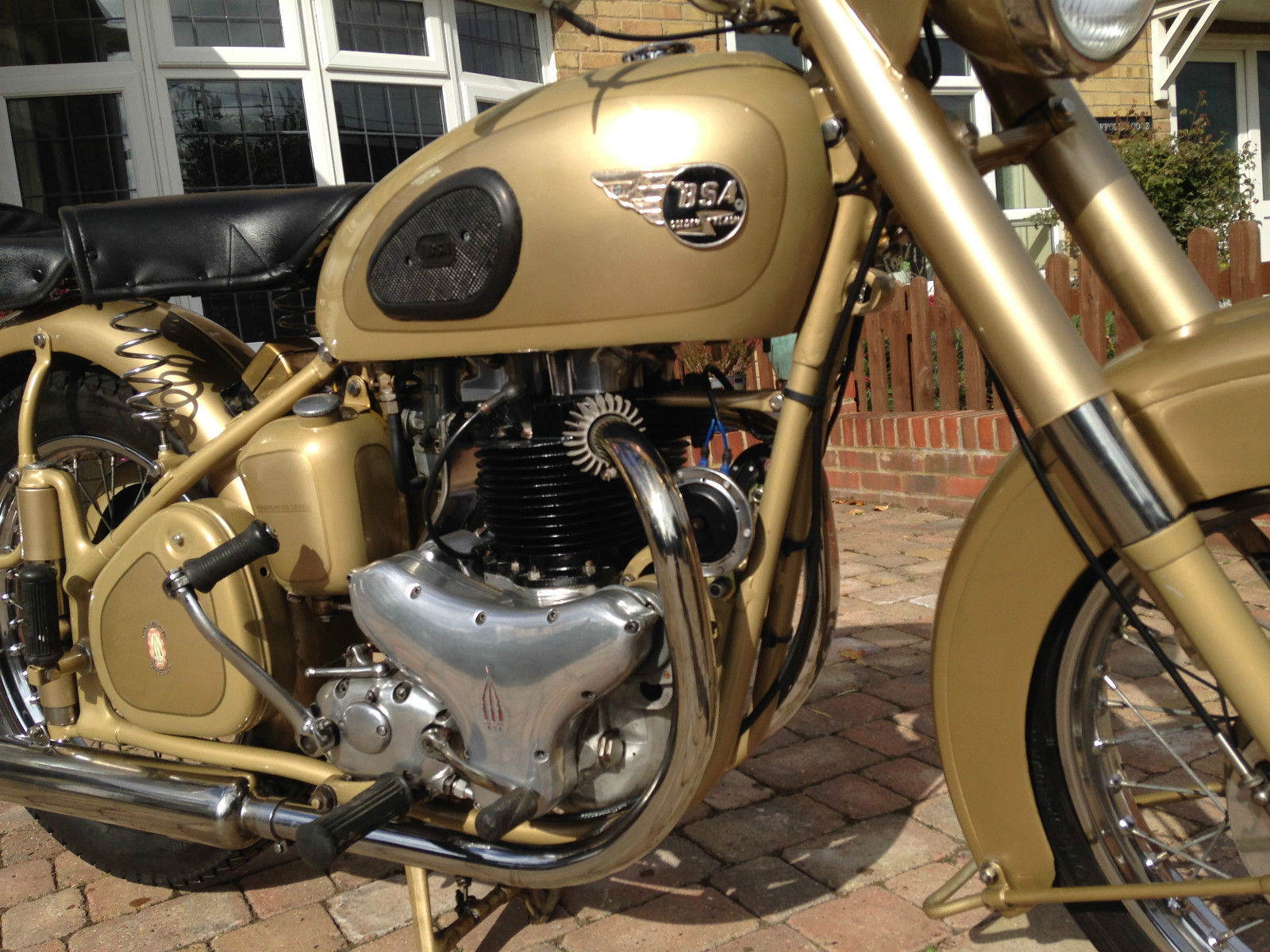 BSA A10 Gold Flash - 1953