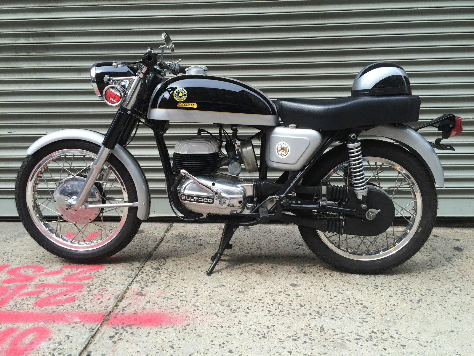 Restored Bultaco Metralla MK2 - 1969 Photographs at Classic