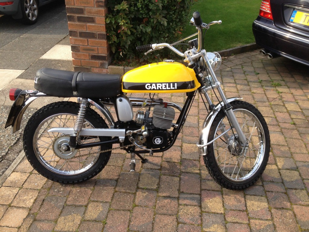 Restored Garelli Tiger Cross 1974 Photographs At Classic
