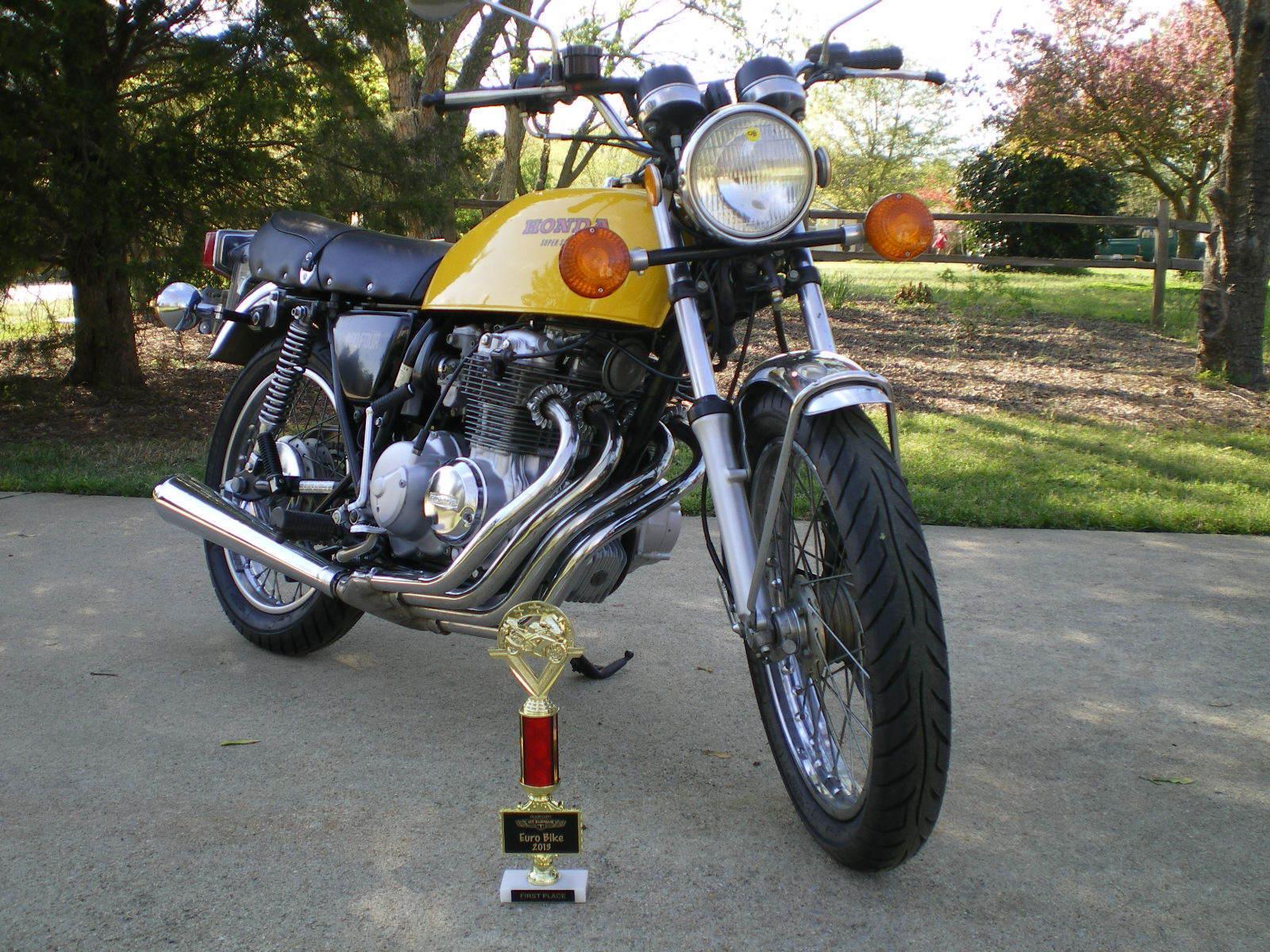Restored Honda CB400 Four